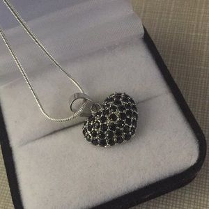 Jewelry - New charming Black Sapphire pendant necklace